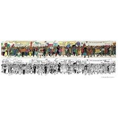 Keychain Daisy Duck with bag, 6 cm