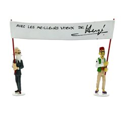 Keychain Minnie Mouse with cake