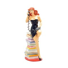 Figure Gaston with Dufflecoat, Resin