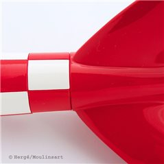 Asterix Figurine: Obelix with flowers