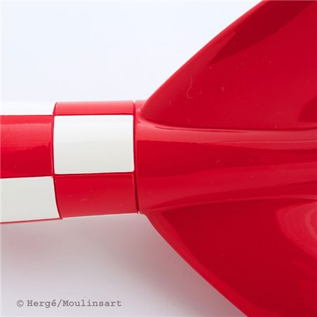 Figurine Obelix with flowers