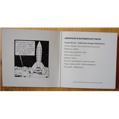 Keychain Captain Haddock, 6cm - The Adventures of Tintin (Moulinsart 42425)