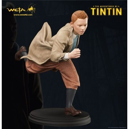 Figurine Thomson with cane, 7cm - Tintin collectible figurine (Moulinsart 42451)