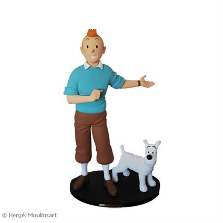Keychain Calculus with briefcase, 8,5cm - The Adventures of Tintin (Moulinsart 42546)