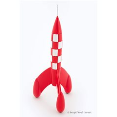 Keychain Tintin in trenchcoat, 8,5cm - The Adventures of Tintin (Moulinsart 42469)