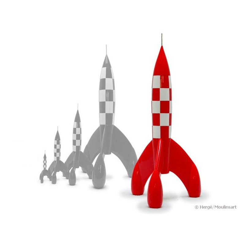 Figurine Tintin in trenchcoat, big