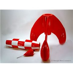 Schlüsselanhänger Sir Francis Haddock, 8,5cm - Tim und Struppi (Moulinsart )