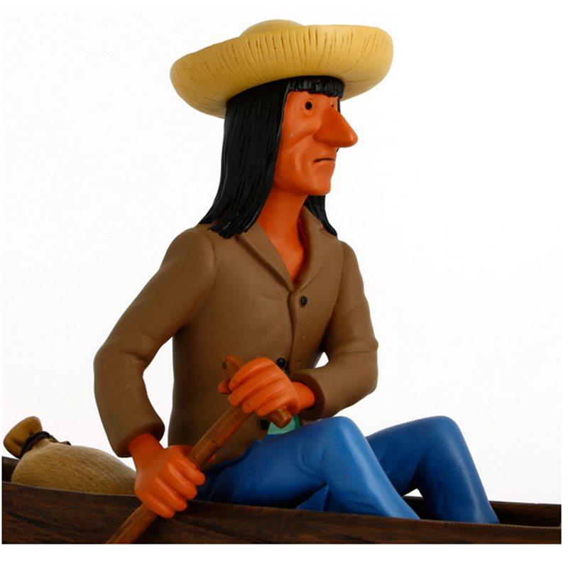 Figur Schulze im Badeanzug, groß