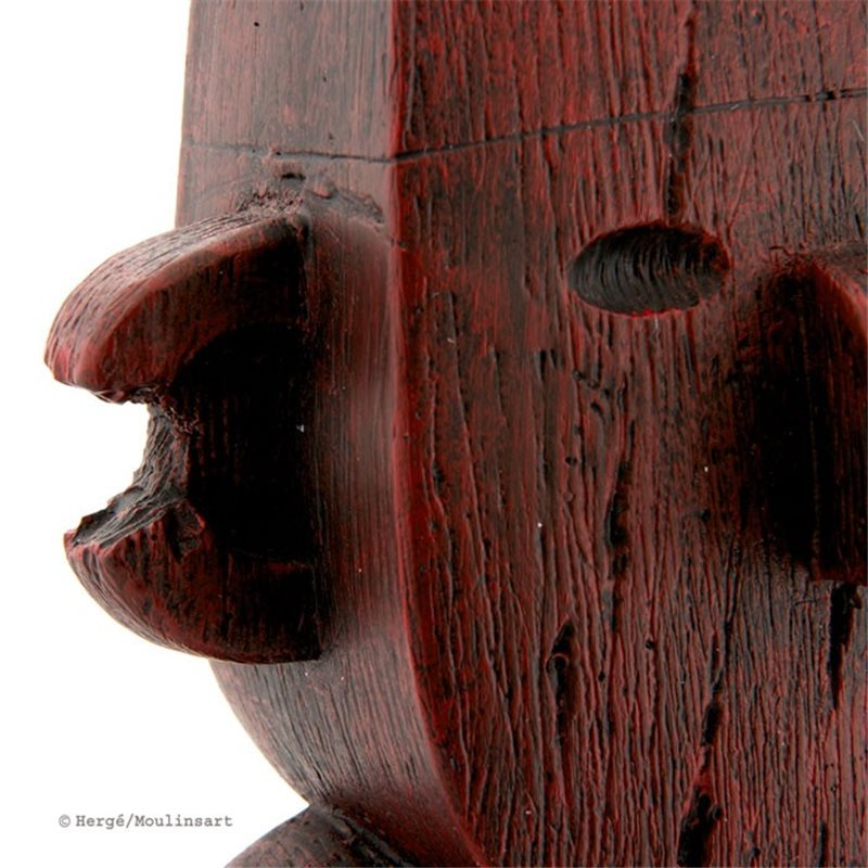 Keychain Tintin wearing blue sweater, big