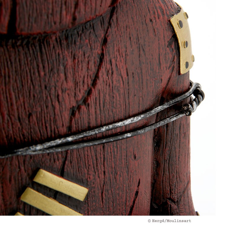 Figurine Tintin wearing blue sweater, big