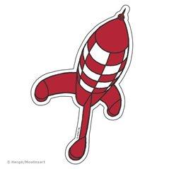 Figurine Snowy walking with bone, big