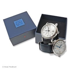 Figurine with Book Tintin and Snowy in the Land of the Soviets