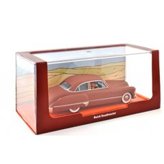 Figurine Album Scene - Tintin and Snowy on track