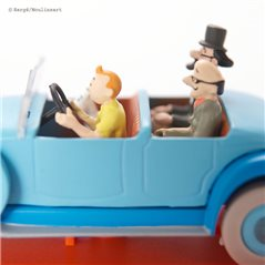 Figurine Album Scene - Tintin and the cigars of the Pharaoh