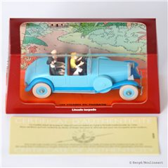 Figurine Album Scene - Tintin on the moon