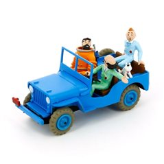Figurine Album Scene - Tintin saves the sceptre