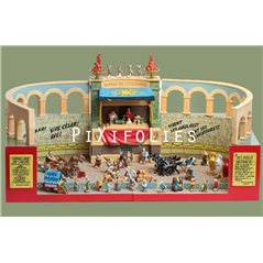 Smurf Figurine Collectible Scene: The Smurfs and the Howlibird (Pixi 6425)