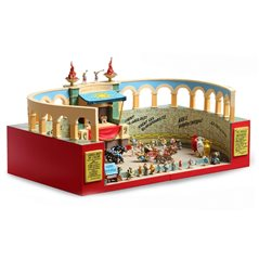 Tintin Collectible Comic Statue resin: Laszlo Carreidas (Moulinsart 42214)