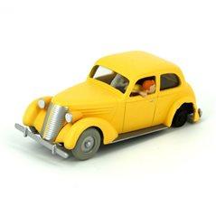 Figurine Album Scene - Tintin in dicing suit