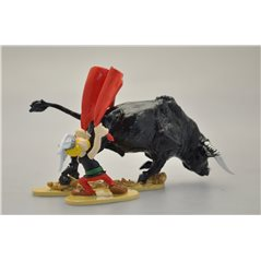 Figur Spiderman kniet, 7 cm (Marvel Comics)
