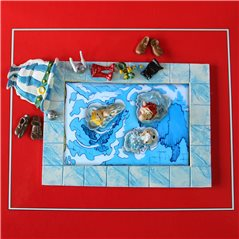 Figur Iron Spiderman, 9 cm (Marvel Comics)