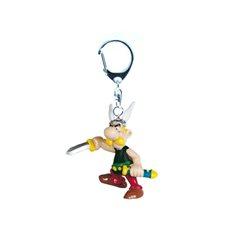 Figure Asterix auf Bücherstapel