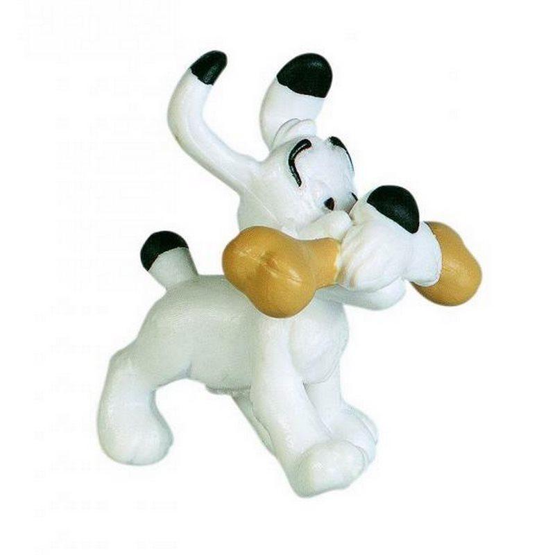 Tim und Struppi Schlüsselanhänger: Struppi, 4 cm (Moulinsart 42316)