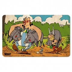 Puzzle Tintin: The Rally with poster 50x67cm (Moulinsart 81546)