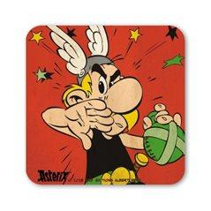 Untersetzer Lucky Luke Portrait, 10x10 cm