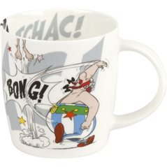 Asterix Coaster Boar Hunting, 10 x 10 cm