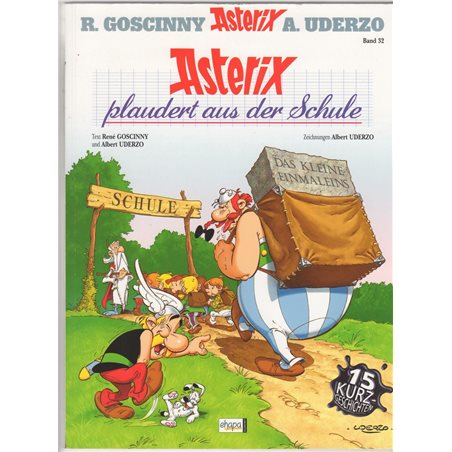 A4 Plastic Folder The Adventures of Tintin - Homecoming from The Broken Ear (Moulinsart 15176)