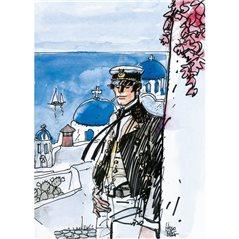 Cover-Poster Tintin: Tintin au Tibet