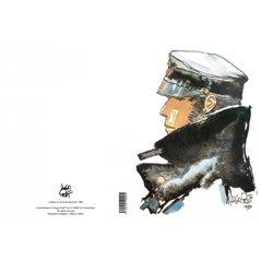 Tim und Struppi Postkarte: Tintin au Congo, 15x10cm (Moulinsart 30070)