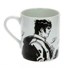 Tintin Model Bust Set with 8 pieces, each 7,5 cm (Moulinsart 42477)