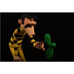 Statue Tintin ramene Milou, 12 cm
