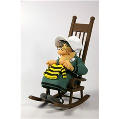 Tintin Collectible Comic Statue resin: Captain Haddock, 11,5 cm (Moulinsart 42195)