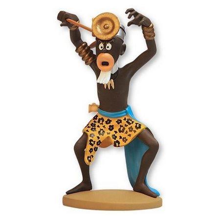 Figur Kunstharz Tim und Struppi im Haifisch U-Boot, 26,5 cm (Moulinsart 46402)