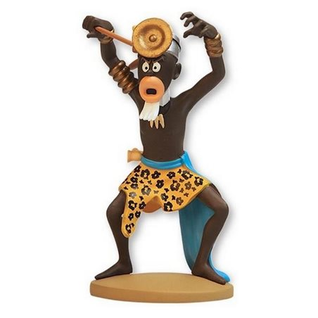 Figurine Model Tintin and Snowy in the Submarine Shark, 26,5 cm (Moulinsart 46402)