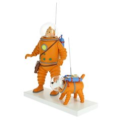 Recycled paper bag Tintin Château de Cheverny, 25x11x36cm (Moulinsart 04240)