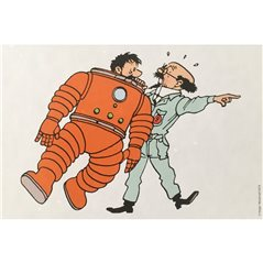 Mini Collectible figure set Tintin in the Land of the Soviets (Moulinsart 46905)