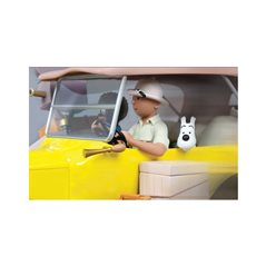 Tintin T-Shirt fleeing on a bike with Snowy, Size S-XL (Moulinsart 884)