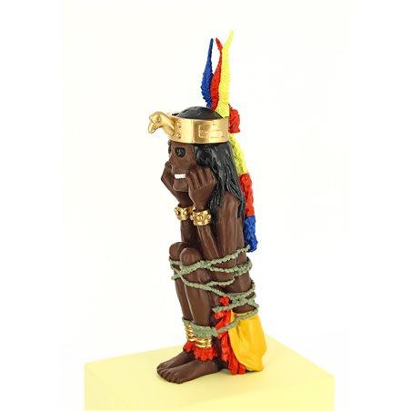 Figur Tim und Struppi: Tim auf Reisen, 12 cm (Moulinsart 42217)