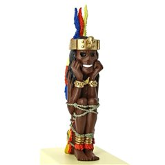 Figur Kunstharz Mochica Vase, 17,5cm: Le Musée Imaginaire de Tintin (Moulinsart 46006)
