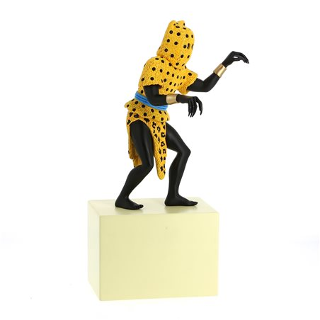 Collectible lead Figure Astérix drinking from the cauldron (Origine No.2 Pixi 2342)