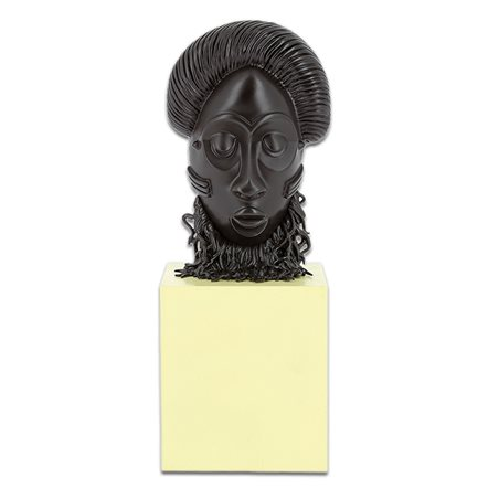 Metallfigur Astérix: Cäsar mit Pergament (Origine Nr.2 Pixi 2350)