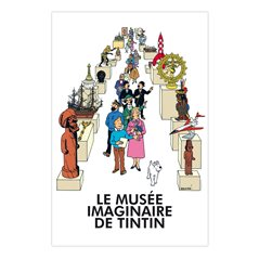 Tintin Collectible Comic Statue resin: Mr Wang Jen-Ghié, 12 cm (Moulinsart 42219)