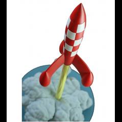 Tim und Struppi Aufbewahrungs- Box (Ordner) Schloß Mühlenhof, A4 (Moulinsart 54370)