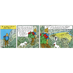 Storage- Box (folder) The shark submarine, A4 from The Adventures of Tintin -  (Moulinsart 54372)