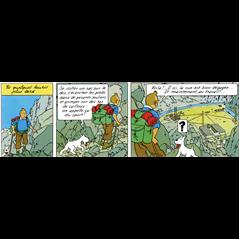 Tim und Struppi Aufbewahrungs- Box (Ordner) Haifisch Uboot, A4 (Moulinsart 54372)