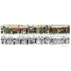 Semi-Waterproof Bag Corto Maltese Portrait (CM-0423200100)